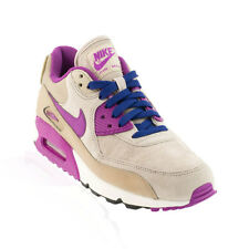 Nike - Air Max 90 Leather Casual Shoe - Desert Camo/Purple Dusk/String/Deep Roya