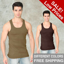 Men Rib TANK Royal Apparel S M L XL 2XL Alternative American Tee Top T-Shirt