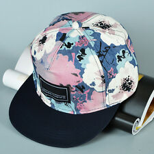 Attractive Unisex Graffiti Floral Snapback Baseball Cap Hip Hop Hat Adjustable