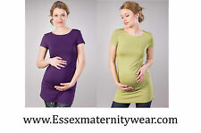 BNWT Maternity Tunic Top Green or Purple Size 8 - 18