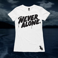 The Amity Affliction Never Alone (White Womens Tee)