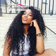 6A Curly Human Hair Lace Front Wigs Brazilian Glueless Best Full Lace Wigs 150%