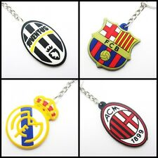 keychain FOR Real Madrid Barcelona Juventus AC Milan Inter fans rubber keyring J