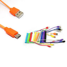 Micro USB Data Sync Charger Spring Coiled Cable For Samsung Galaxy Note 3 4 5 S7
