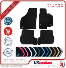 Genuine Hitech Audi TT MK2 Tailored Velour Carpet Car Mats 2006-14 Set of 2.