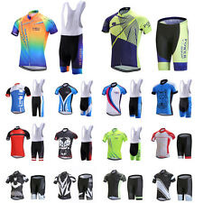 Men Breathable Bike Bicycle Racing Clothing Cycling Jersey Bib Short Wear Set