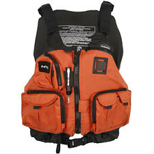 NRS Chinook Fishing Mesh Back Life Jacket PFD Orange