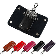 New Men Wallet Women Leather Key Chain Accessory Pouch Bag Case Key Holder coin