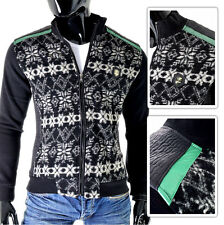 BLACK Men's Jacket Mondo | Lumberjack Style Epaulets Pattern | FREE & FAST POST!