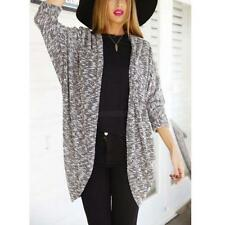 Casual Women Long Sleeve Knitted Cardigan Loose Sweater Jacket Coat Outwear Tops