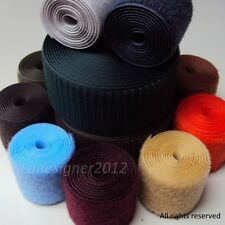 2 inch (50mm) 5 yards Sew on a type of velcro Hook and Loop Fastener Tape
