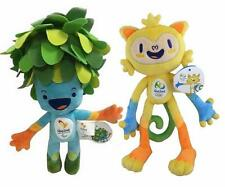 2016 Brazil Rio Olympic Games Mascot Vinicius & Tom Official Plush HOT Toy Doll