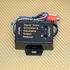 Speaker Wire IN  to RCA OUT Line Level Converter Adjustable High/Low Car Stereo
