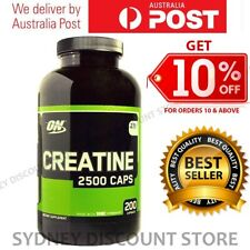 Optimum Nutrition Creatine 2500 Caps 200 or 400 Capsules