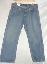 Levis 550 Boys Jeans Relaxed Straight leg cotton light wash size 16H NEW