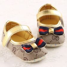 Summer Newborn Baby Girls Shoes Infant Toddlers Soft Sole Non-Slip Crib Sandals