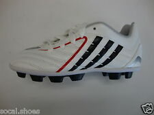 ADIDAS PREDITO PS TRX HG J Kids Soccer Football Cleats Shoes White Black  029401