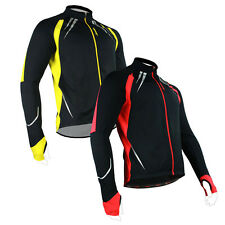 New Fleece Thermal Winter Cycling Jacket CasualCoat Outdoor Bike Jersey 2 Color