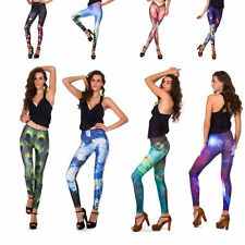 Sexy Women Colorful Galaxy Print Leggings Stretchy Sexy Jeggings Pencil Pants