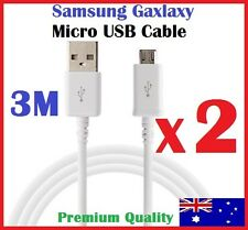 3M Micro USB Charging Data Cable for Samsung Galaxy S7 S6 S5 S4 3 Note 4 5 HTC