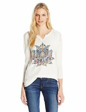 Lucky Brand Womens Collection 7W82307 Bliss Lotus Tee- Choose SZ/Color.