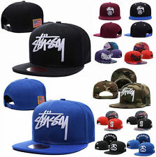 Stussy Hip-Hop Hat Sun Hat Unisex adjustable Snapback Baseball Cap Obey YMCMB UK
