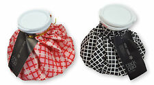 Ice Pack, Ice Bag Plaid Design, Cold Therapy, Pink or Black