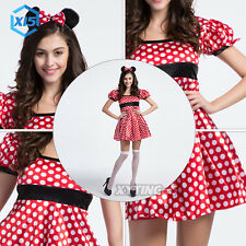Halloween Fancy Dress Women Disney Mickey Mouse Costume Sexy Cosplay Costume Hot