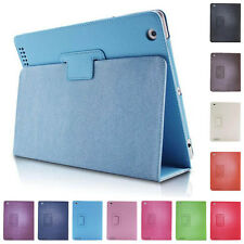 Smart Case Kickstand Pouch Protector Leather Cover For Apple iPad 2 3 4 Flip