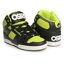 OSIRIS NEW Mens Black Hi Top Trainers Skate Shoes NYC 83 BNIB