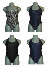 CHEX Swimming Costume Bali Ladies Contrast Stitching Scoop Back Girls Womens
