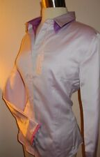 Naracamicie Italy Double Collar Career Shirt New $200 Stretch Button Down Fitted