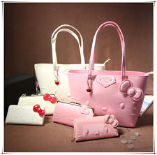 New HelloKitty Handbag Shoulder Bag Totes Shopping Purse LY-545