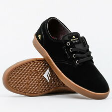 Emerica Shoes Laced Romero Black Gum FREE POST Mens Skateboard Sneakers