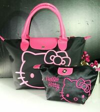 NEW HELLOKITTY HAND BAG PURSE BAG WITH MAKE UP COSMETIC BAG ly-2554-1