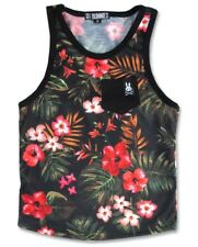 Six Bunnies Aloha Boys Muscle Tank Retro Hawaii Rockabilly Tee Shirt Cool Top
