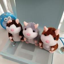 Lovely Talking Hamster,Plush Toy Hot Cute Speak Talking Sound Record Hamster Toy