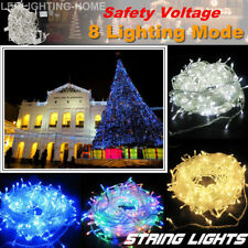 300/500/1000 LED Fairy String Lights Christmas Tree Wedding Party Xmas Outdoor