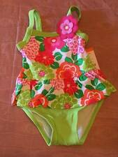 NWT Gymboree Tropi-cutie One Piece Floral Swimsuit 12-18 or 18-24