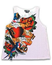 Six Bunnies Family Forever Singlet Tank Alternative Rockabilly Tattoo Cute Top
