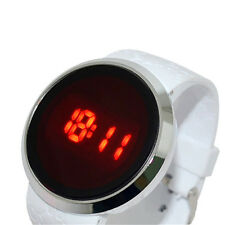 Pretty Mens/Womens Touch LED Screen Day Date Silicone Wrist Watch Hot