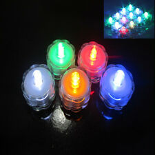 12 LED Submersible #H Wedding Floral Decoration Tea Vase Battery light Candles