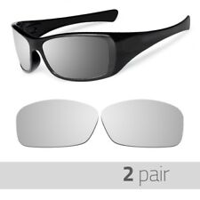 2 Pair Optico Replacement Polarized Lenses for Oakley Hijinx Sunglasses Mirror