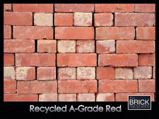 SECOND HAND RECYCLED SOLID RED BRICKS - A-GRADE-  FROM *0.80c EACH!!