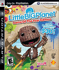 LittleBigPlanet - Game of the Year Edition (Sony PlayStation 3, PS3) Complete