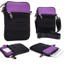 """Kroo Universal Retro Sleeve 11.6"""" Tablet Cover w/ Shoulder Strap ND11R2-1"""