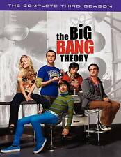 The Big Bang Theory The Complete Third Season 3 (DVD, 2010, 3-Disc Set)        z