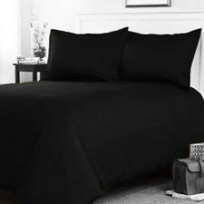 100% Pure Natural Finest Egyptian Cotton 200 Thread Count Flat sheet Black