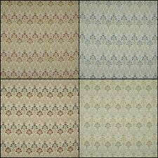 iLiv Tiffany Floral Woven Designer Curtain Upholstery Fabric   3 Colours