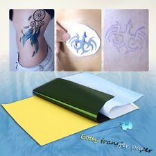 10Sheets Tattoo Transfer Carbon Paper Supply Tracing Copy Body Art Stencil A4 HC